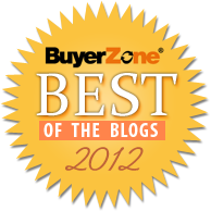 Best of BuyerZone Small Business Blog Recipient
