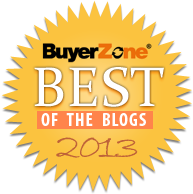 Award Recipient - Best Business Branding Blogs 2013 - BuyerZone