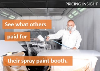 Spray paint booth pricing insights