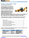 Backhoe Loaders pricing guide