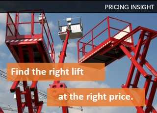 Aerial Lift Pricing Insights