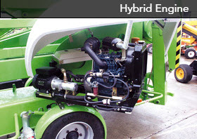 Hybrid Aerial Lift Engine