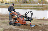 Marty Turek uses Ditch Witch SK650