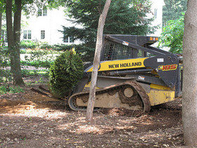 Skid Steer Landscaping