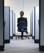 Office cubicles can help organize department teams