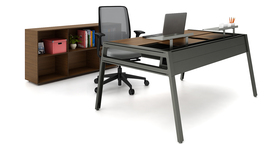Wood Finish Office Furniture