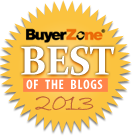 Best of BuyerZone Business Branding Blog Recipient