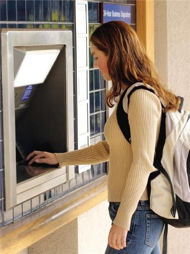 Consumers can now use ATMs to reduce their environmental impact and get cash.