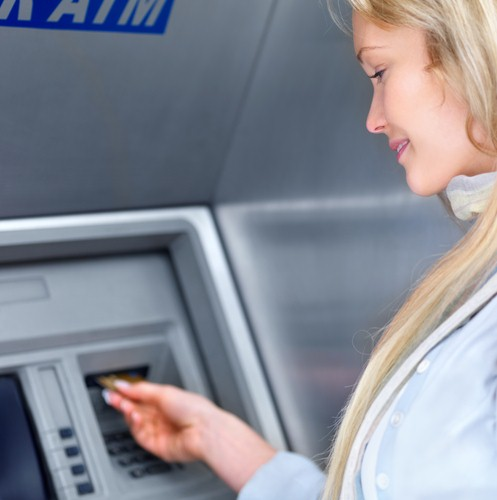 Many customers have adopted self-service trends and like to visit ATM machines instead of store branches.