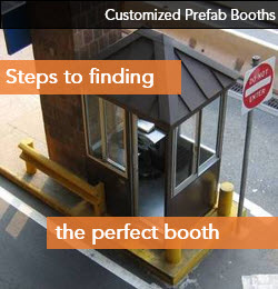 Customized Security Booth