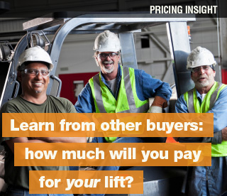learn from other forklift buyers