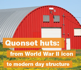 Quonset huts: from World War II icon to modern day structure