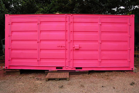 Neon Event Storage Container