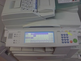 Control Pad for Copier
